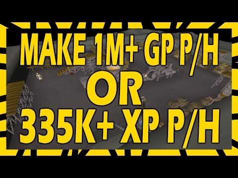 Make 1M+ GP PER HOUR Or 335k XP Per Hour | In Depth Blast Furnace Guide