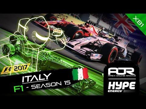 F1 2017 | AOR Hype Energy F1 Leagues | XB1 Oceania S2 | R9: Italian GP