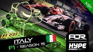 F1 2017   AOR Hype Energy F1 Leagues   XB1 Oceania S2   R9: ITALIAN GP