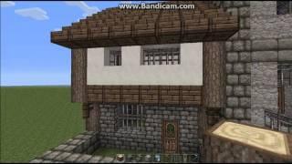 minecraft medieval town tutorial modular