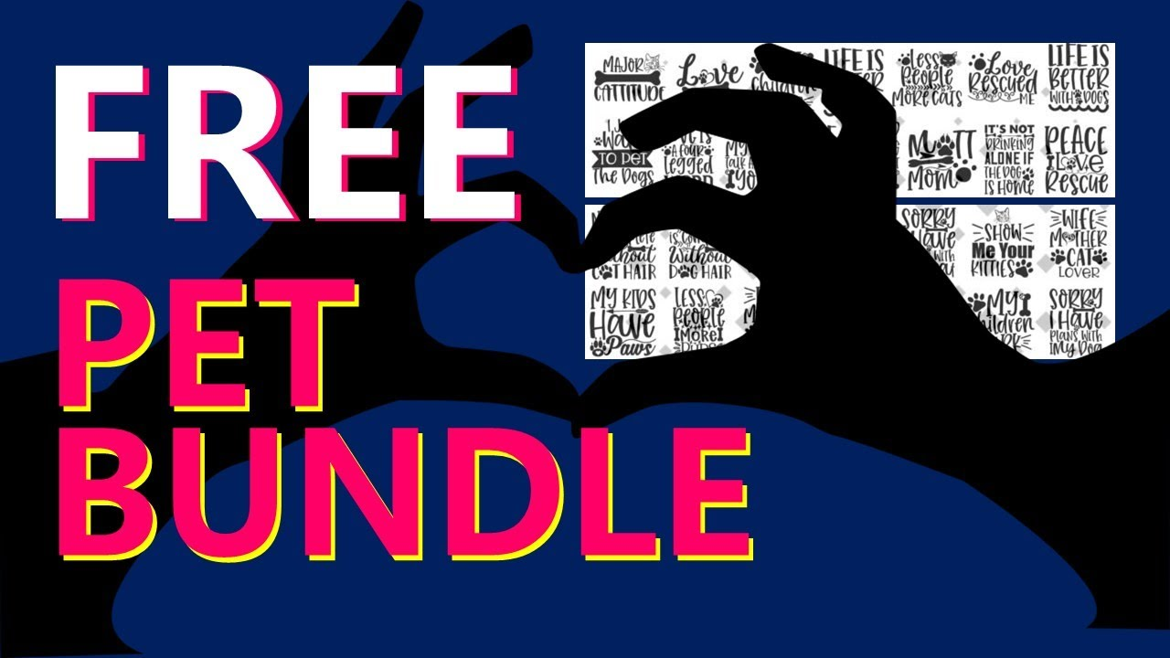 FREE Design BUNDLE ALERT - PETS!