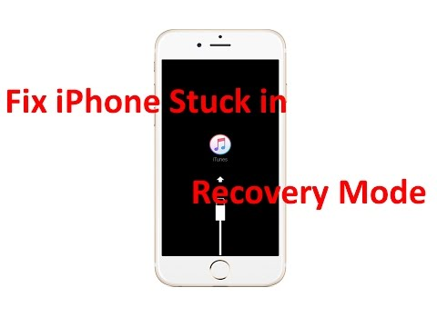 Fix Iphone Recovery Mode How To Fix Iphone Stuck In Recovery Mode