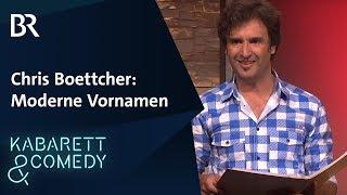 Chris Boettcher: Moderne Vornamen