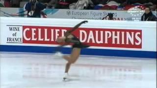 Sarah Meier chompionne d'europe de patinage artistique berne