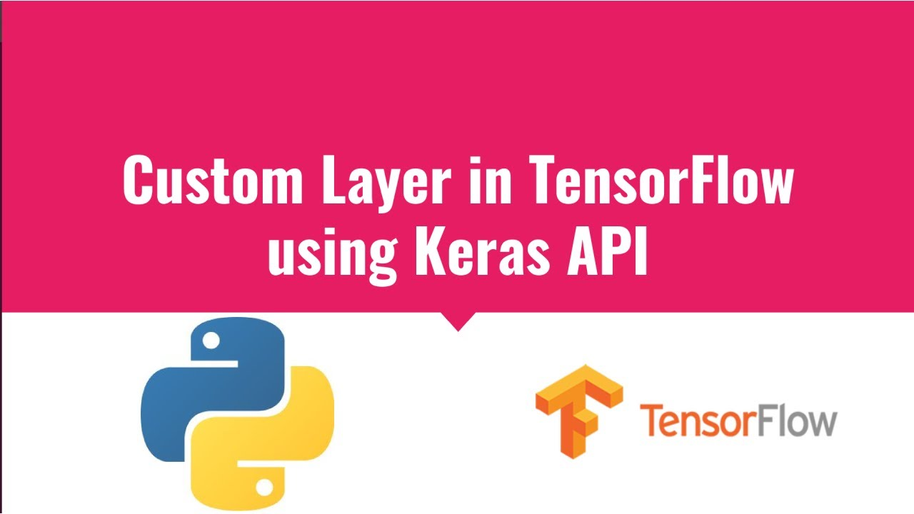 Custom Layer in TensorFlow using Keras API | Custom Dense Layer in TensorFlow Keras | Deep Learning