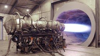 MEGA JET ENGINE TEST - Full Afterburner - F16 Turbine Test