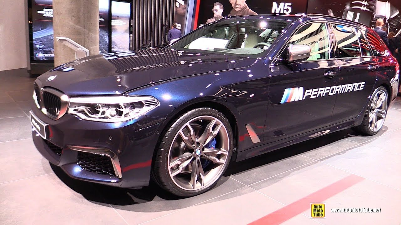 2018 Bmw M550d Xdrive Touring Exterior And Interior