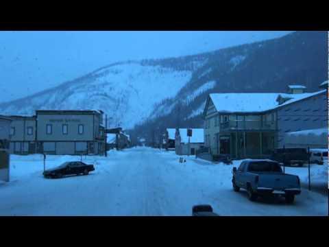 Dawson City in Winter