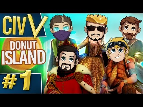 Civ V: Donut Island #1 Water Donut