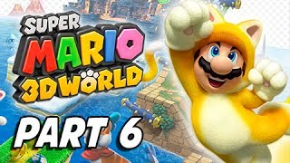 Super Mario 3D World Walkthrough Part 6 - Bowser's Bullet Bill Brigade (100% Stars & Stamps)