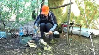 Лесная кухня  фаршированая картошка