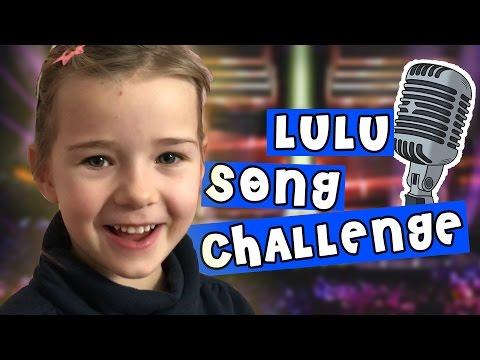 SONG CHALLENGE #1 🎤  Lulu singt Lieder aus den Charts - mit Lulu & Leon - Family and Fun