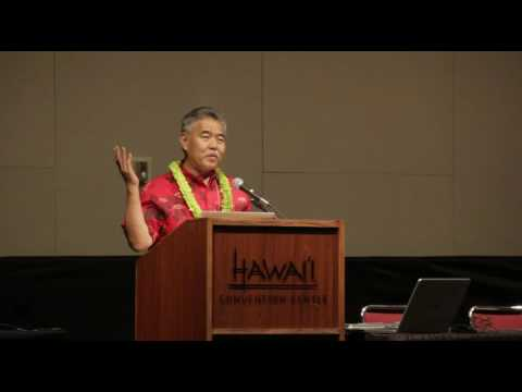 Hawaii Governor David Ige - Keynote Message at Hawaii Education Summit July 9 2016