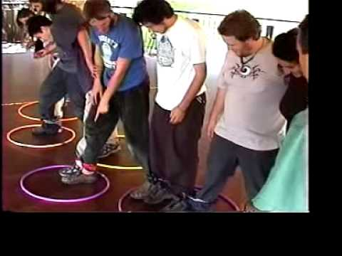 Air lock teambuilding game youtube - Team building swimming pool games ...
