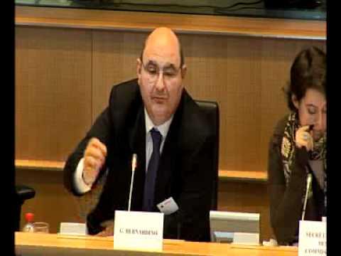 Hearing Mr Bernadino as designated chair for EIOPA in EP