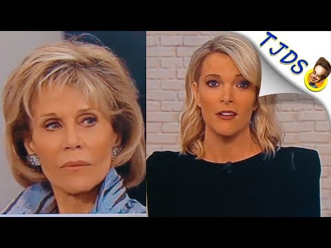 Megyn Kelly's Bizarre Attack On Jane Fonda