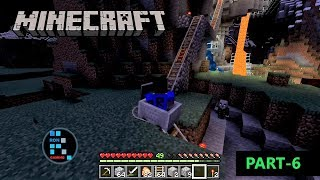 [Hindi] MINECRAFT GAMEPLAY | RAIL BUILD FINISH AND HAVING FUN WITH UNDERGROUND RAIL#6