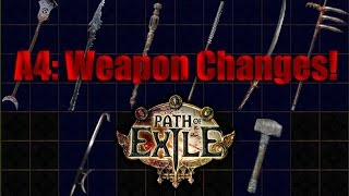 Act 4: Changes to Weapon Bases!  Staves Buff Hype!