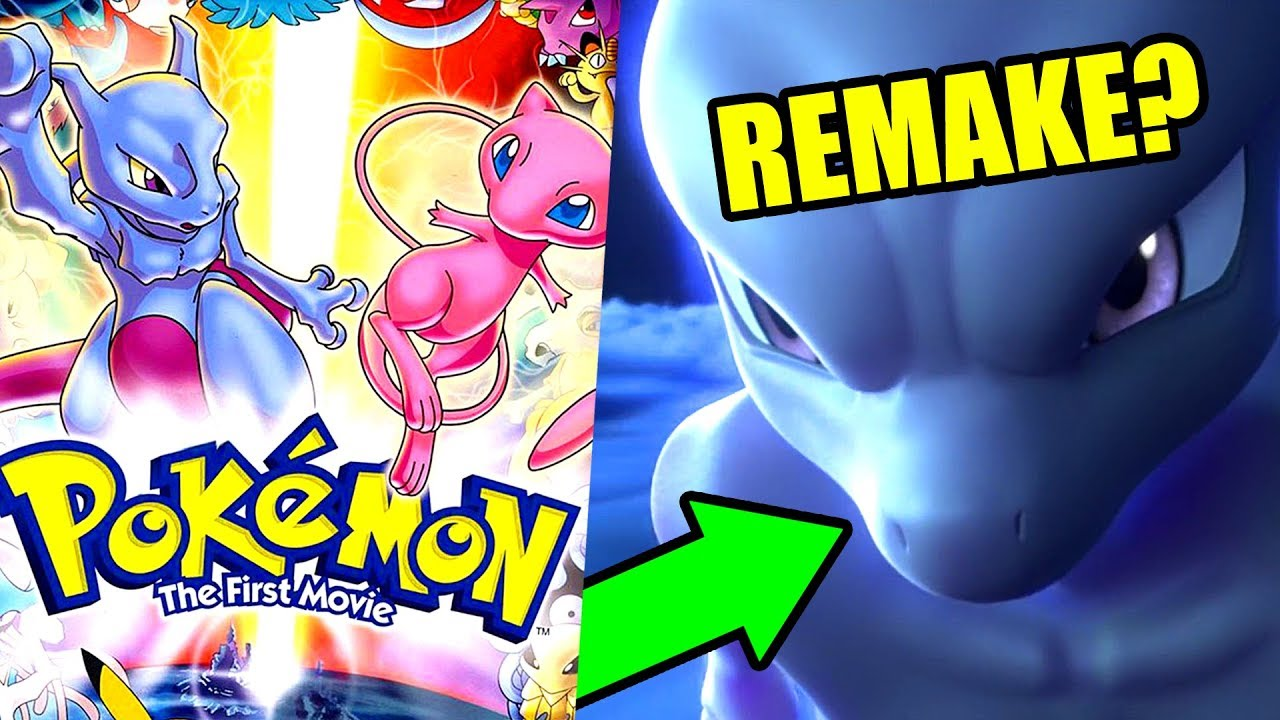 Pokemon is remaking the first movie mewtwo strikes back evolution reaction youtube - Mewtwo evolution ...