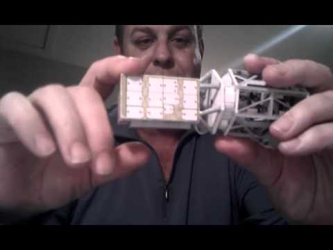 Papercraft International Space Station - P3/P4 & SARJ in 1:100 scale paper model