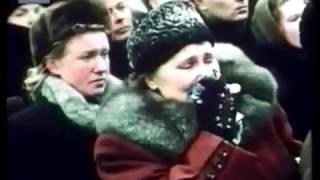"""Перестало биться сердце Сталина """"Великое прощание"""" Москва, 1953, фильм"""