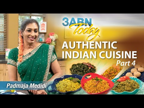 "3ABN Today Cooking - ""Authentic Indian Cuisine, Part 4"" with Padmaja Medidi (TDYC190006)"