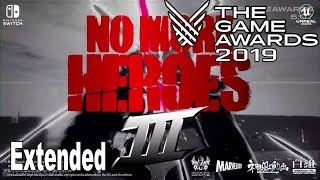 No More Heroes 3 - Extended Trailer The Game Awards 2019 [HD 1080P]