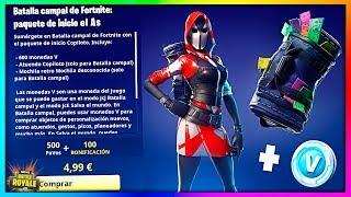 NEW Starter PACK (New Skins) Fortnite: Battle Royale [BySixx]