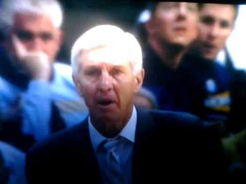 Jerry Sloan tells someone to shut the fuck up