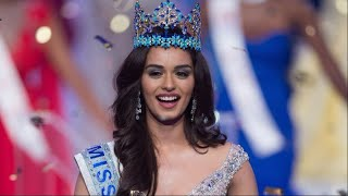 Beauty Queens Reaction To Miss World 2017 Manushi Chhillar's Win