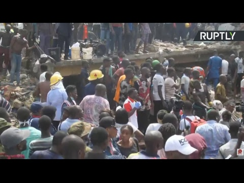 School building collapsed while classes were in session in Nigeria