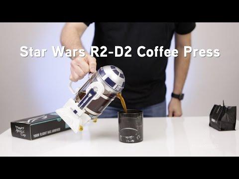 Star Wars R2 D2 Coffee Press From Thinkgeek Youtube