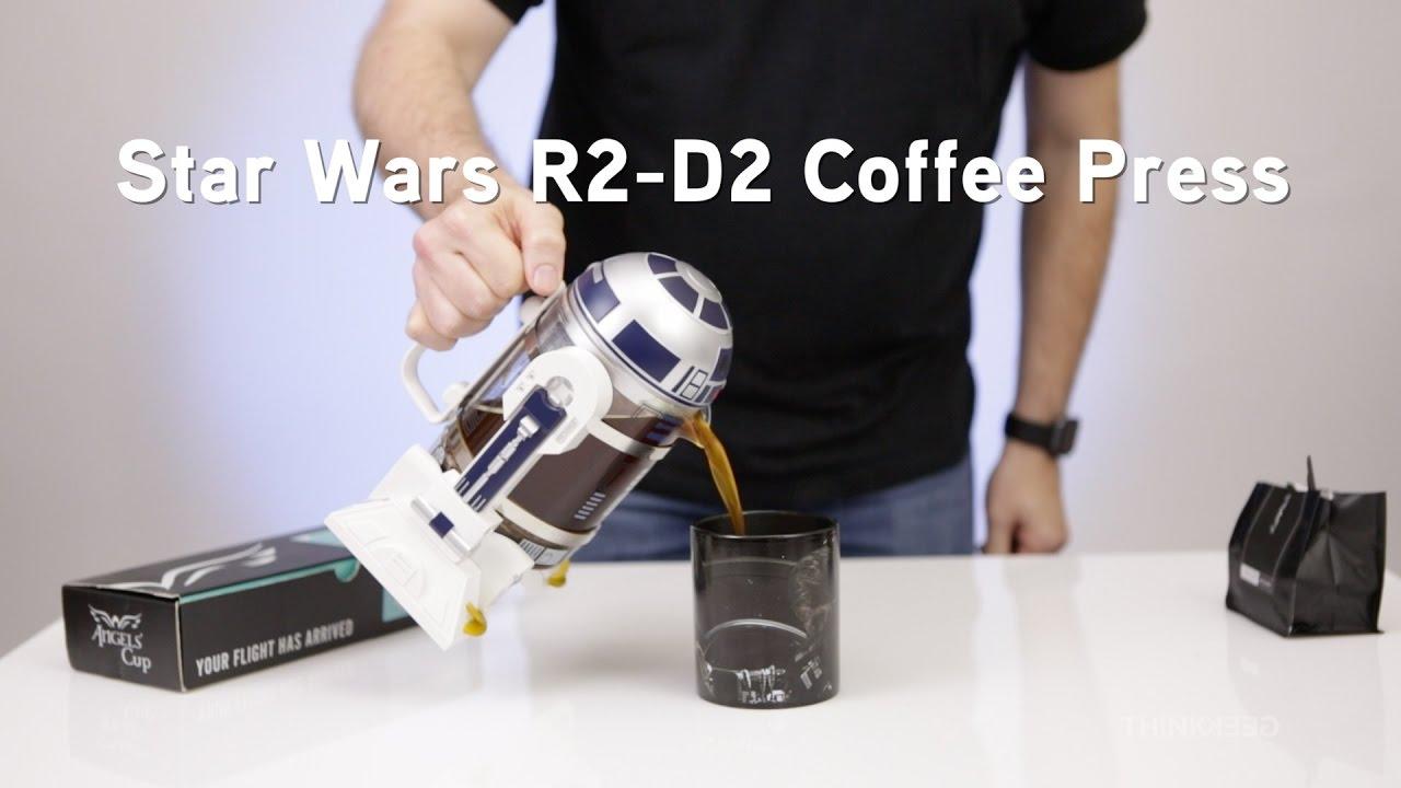 Star Wars R2 D2 Coffee Press From Thinkgeek