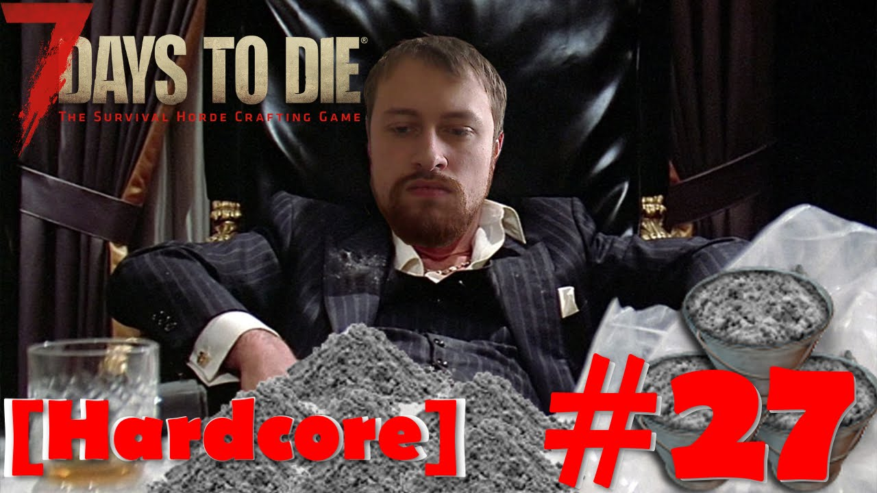 7 days to die цементный раствор зжбк бетон
