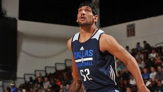 Satnam Singh Puts in Two Buckets for Mavs, 7/16/2015