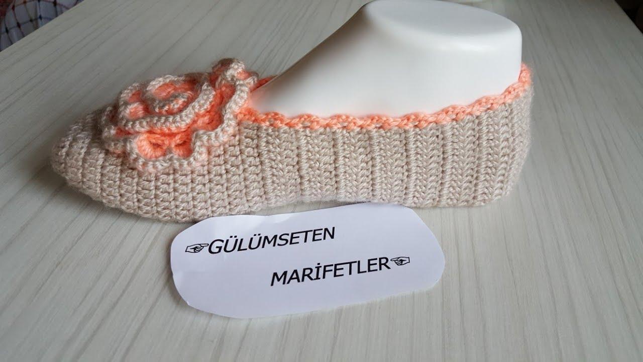 Babet Patik Dantel Modeli Yapımı Türkçe Anlatımlı Videolu