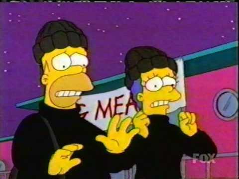 The Simpsons  Cinder Block vs. Houseboat