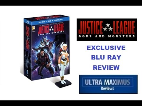 Justice League Gods & Monsters Exclusive Blu Ray Review