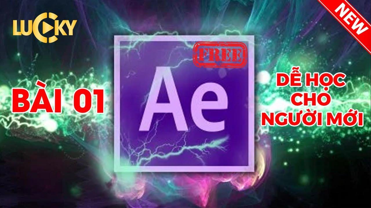 Học kỹ xảo điện ảnh với After effects cc 2018 - Bài 1: Cách đưa ảnh,video( import file )vào làm việc