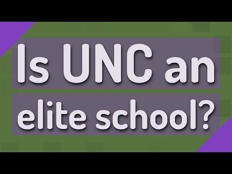 Is UNC an elite school?