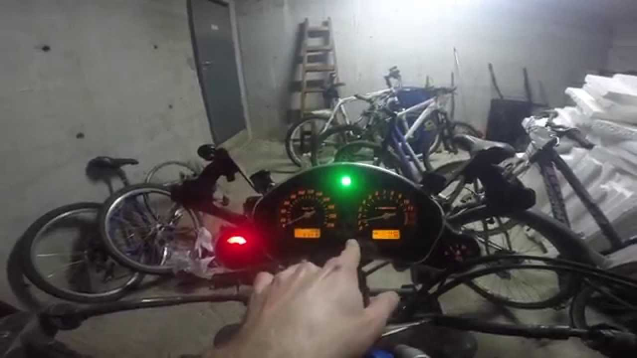 Install Bike Tachometer