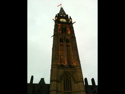 Peace Tower Bells at 7:00 PM