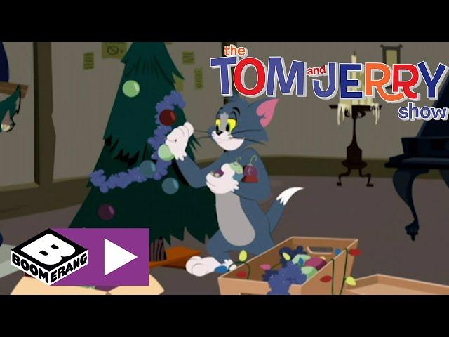 La tregua di Natale | Tom e Jerry Show | Boomerang Italia