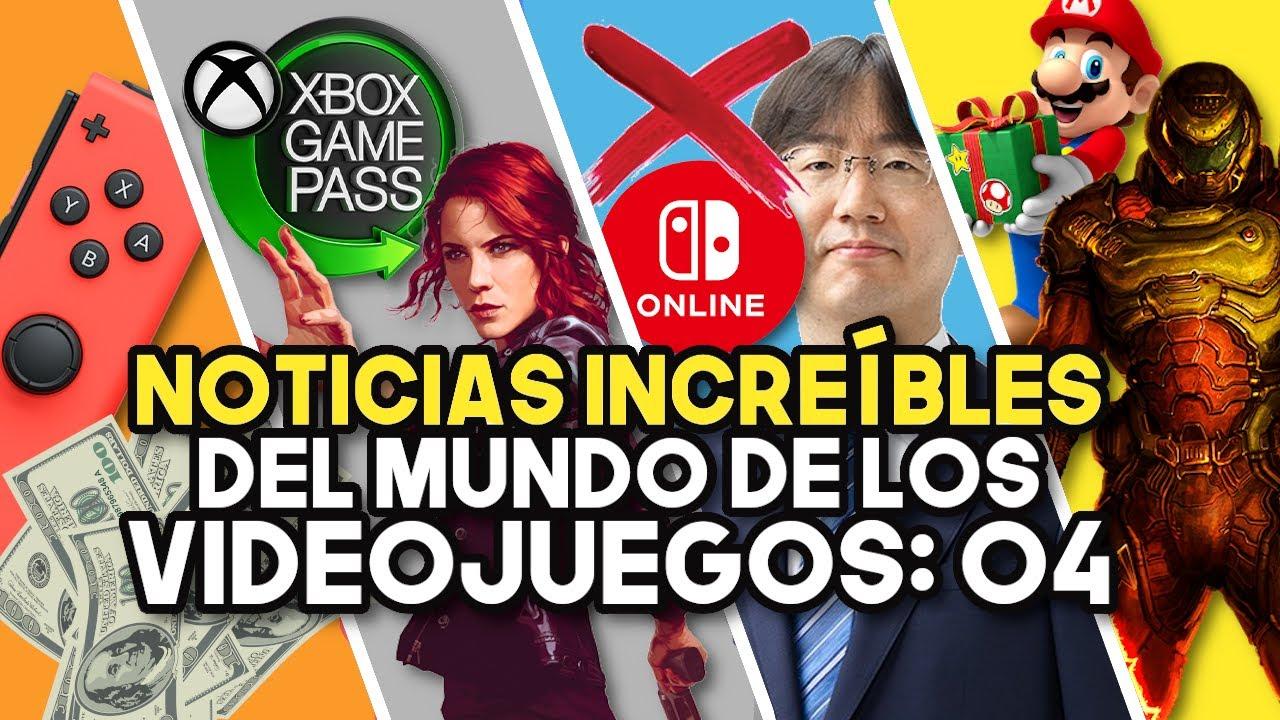 NOTICIAS INCREÍBLES DEL MUNDO DE LOS VIDEOJUEGOS 04 (RESUMEN SWITCH - PS5 - XBOX SERIES X|S)
