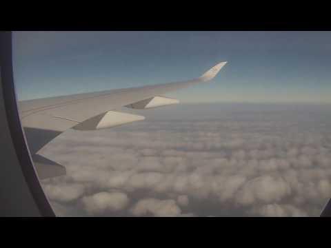 Airbus A350 Full Flight Munich-Hamburg Timelapse || Aviation Movies