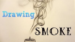 How to draw * SMOKE * with a pencil