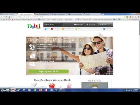Quick Cashback rewards video