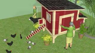 M300u - Free Chicken Coop Plans - Large Chicken Coop Plans Free - How To Build A Chicken Coop