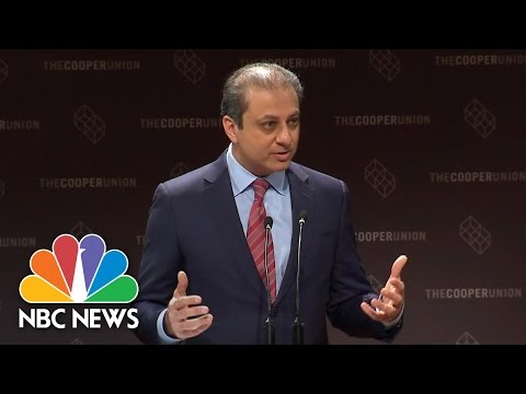 Preet Bharara Speaks Out On Firing, Donald Trump Being 'Good At' Firing People | NBC News
