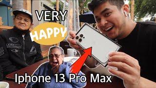 NAKA IPHONE 13 PRO MAX NA SI NANAY!